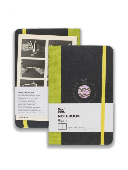 Flex Book Notebook Açık Yeşil Çizgisiz 9x14 cm
