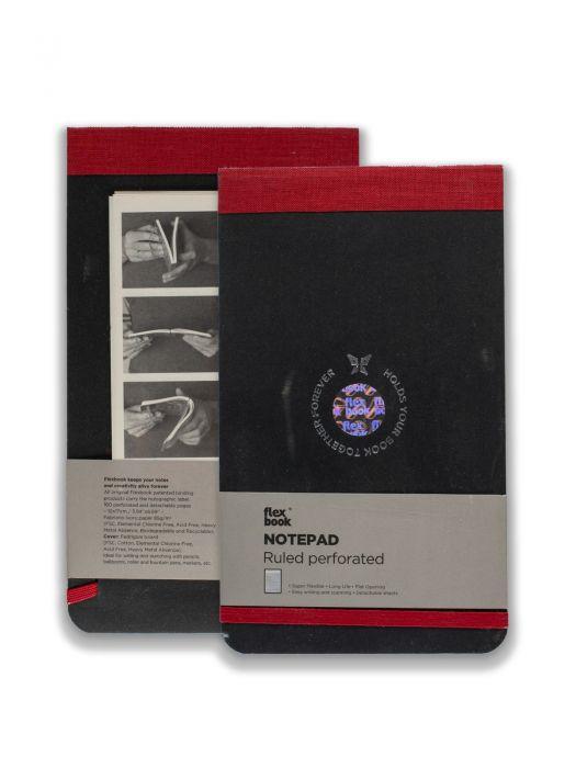 Flex Book Notepad Kırmızı Çizgili 21x28 cm