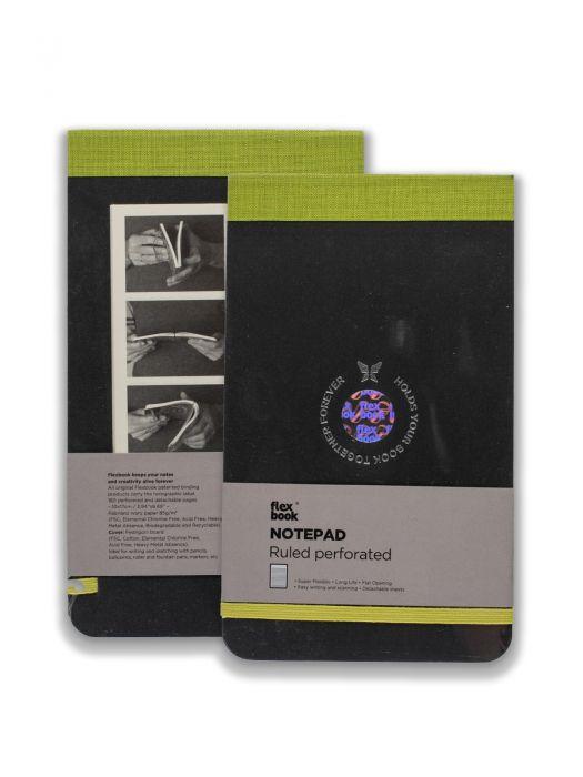 Flex Book Notepad Yeşil Çizgili 21x28 cm