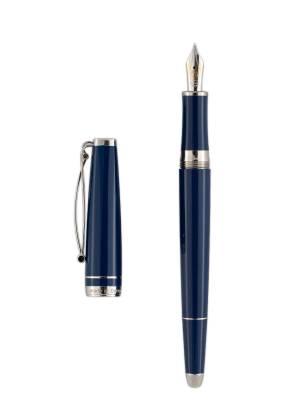 Cleoskribent Skribent Platinum Blue Dolma Kalem - Thumbnail
