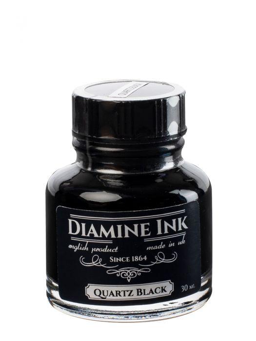 Diamine Quartz Black Şişe Mürekkep 30 ml
