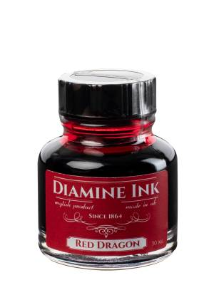 Diamine Red Dragon Şişe Mürekkep 30 ml - Thumbnail