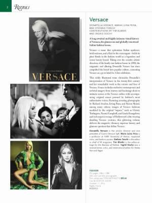 Rizzoli Newyork Versace - Thumbnail