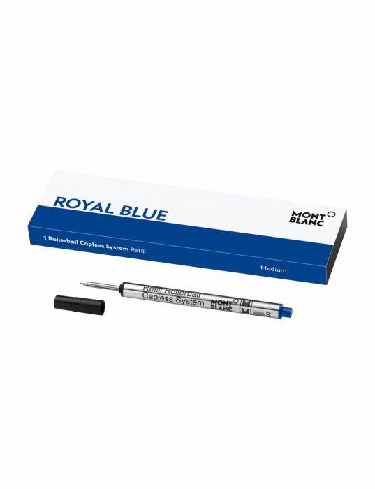 Montblanc Royal Blue Roller Kalem Capless System Yedeği (M)