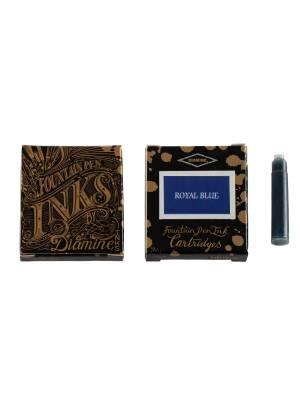 Diamine Royal Blue 6'lı Kartuş - Thumbnail
