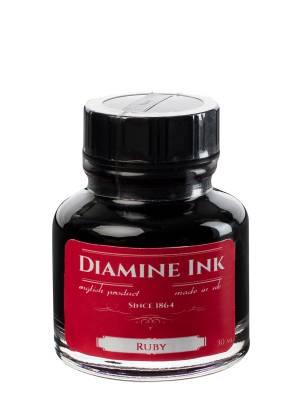 Diamine Ruby Şişe Mürekkep 30 ml - Thumbnail