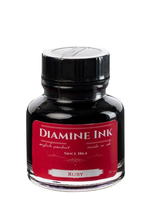 Diamine Ruby Şişe Mürekkep 30 ml