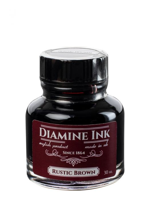 Diamine Rustic Brown Şişe Mürekkep 30 ml