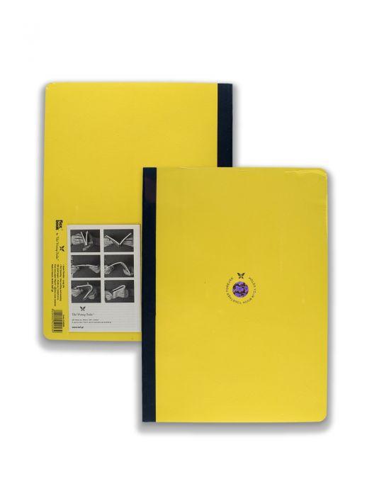 Flex Book Sarı Smart Mavi Çizgili 21x29 cm