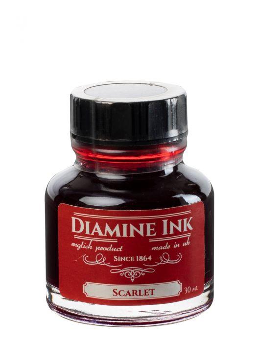 Diamine Scarlet Şişe Mürekkep 30 ml