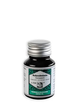 Rohrer and Klinger Smaragdgrün Şişe Mürekkep 50 ml - Thumbnail