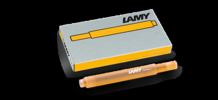 Lamy T10 Dolma Kalem Kartuşu Mango