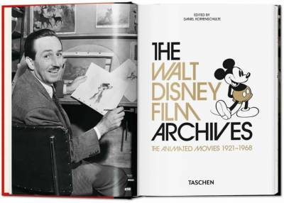 Taschen The Walt Disney Film Archives The Animated Movies 1921-1968 - Thumbnail