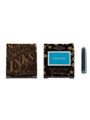 Diamine Turquoise 6'lı Kartuş - Thumbnail