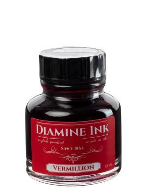 Diamine Vermillion Şişe Mürekkep 30 ml - Thumbnail