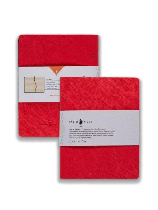 Fabio Ricci Vlore Kırmızı Çizgili 9x14 cm