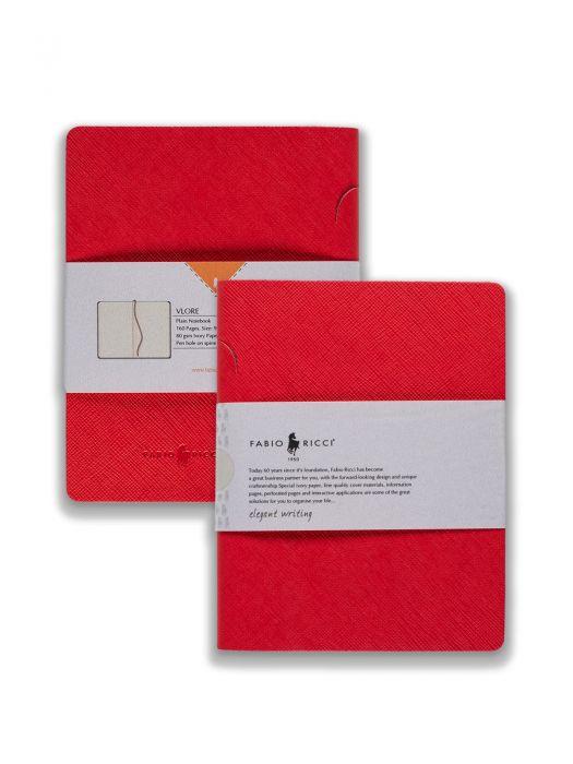 Fabio Ricci Vlore Kırmızı Çizgisiz 9x14 cm
