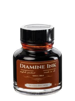Diamine Warm Brown Şişe Mürekkep 30 ml - Thumbnail