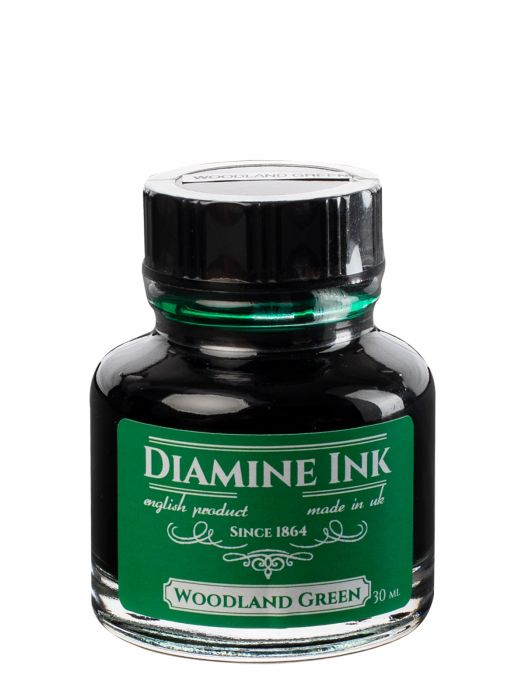 Diamine Woodland Green Şişe Mürekkep 30 ml