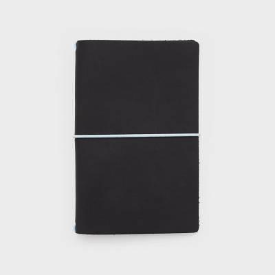 Wordnotebook Siyah Deri Defter Kılıfı - Thumbnail